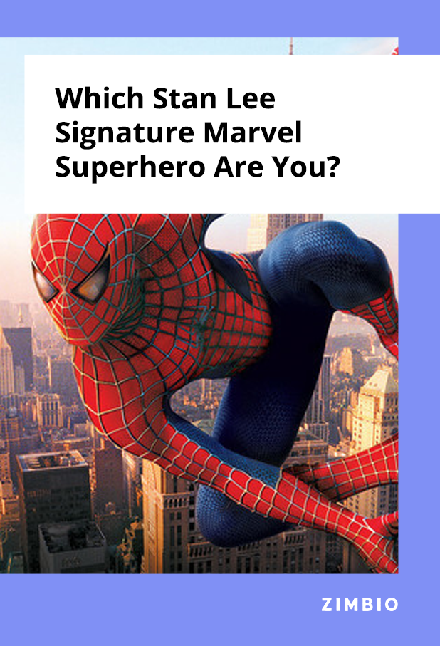 Which Stan Lee Signature Marvel Superhero Are You Marvel Superheroes Superhero Marvel