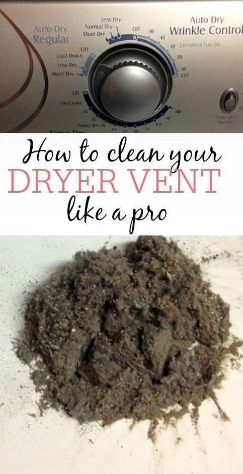 How to clean your dryer vent dryer check and household i spent years not knowing that you needed to clean out your dry vent i would clean the lint off of the lint trap when i put clothes in th solutioingenieria Images