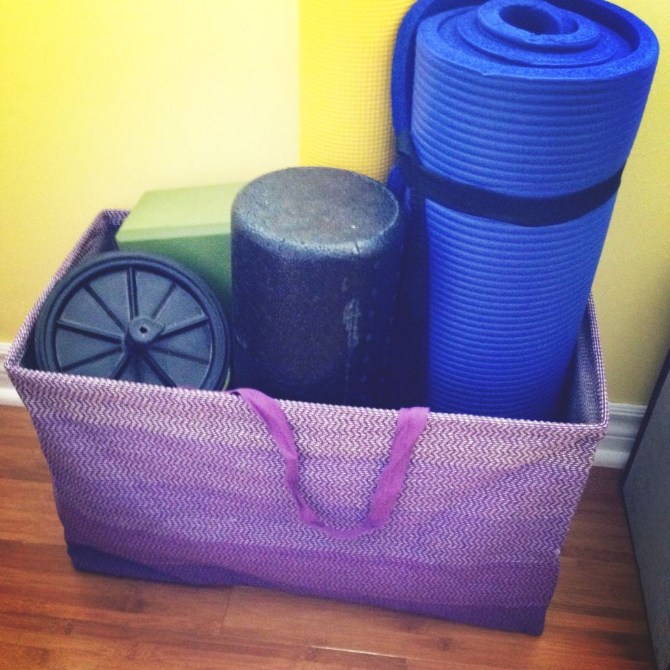 Workout Gear Storage From The Container Store. Fit My