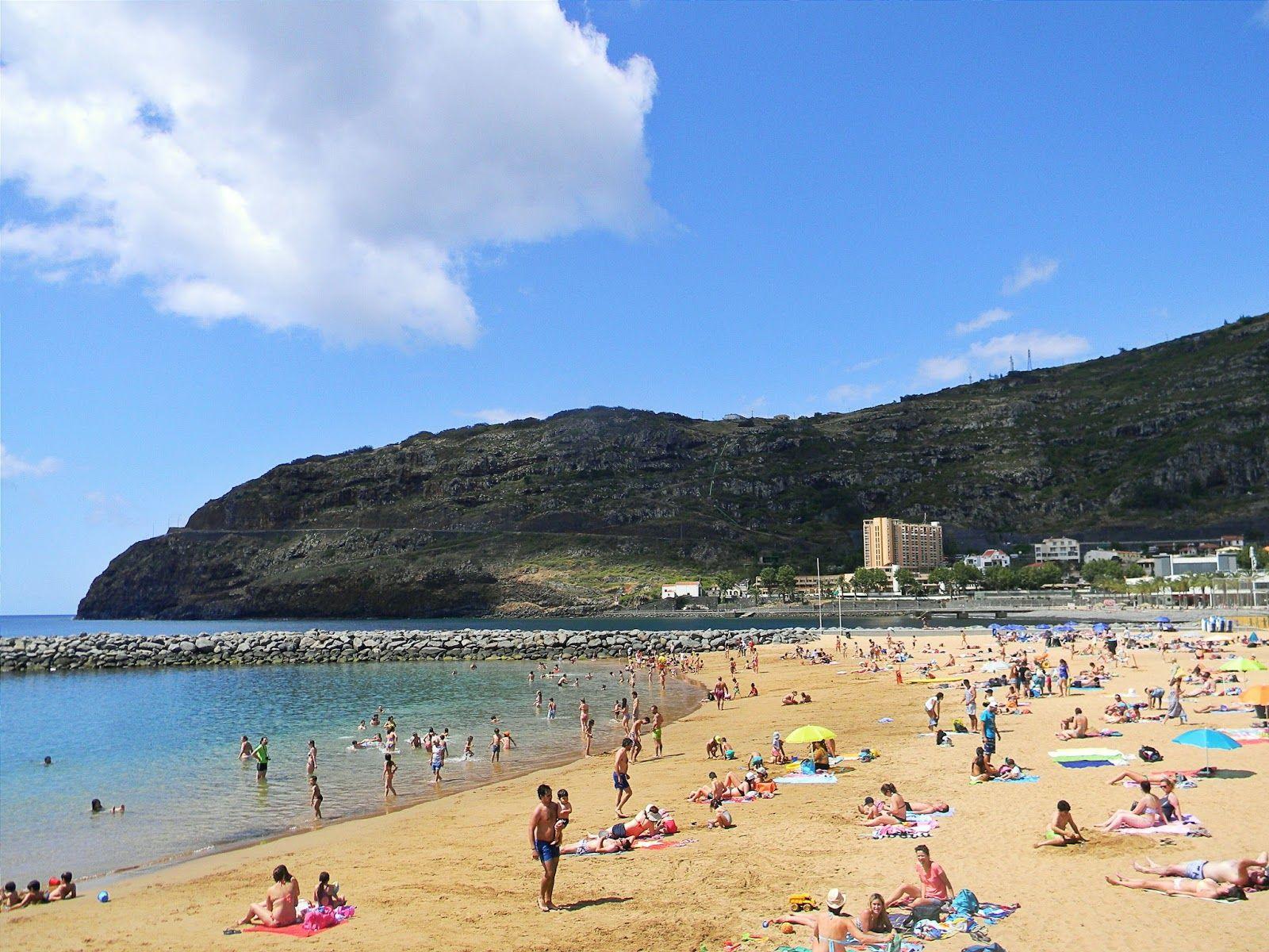 Machico Beach Madeira Pinterest And