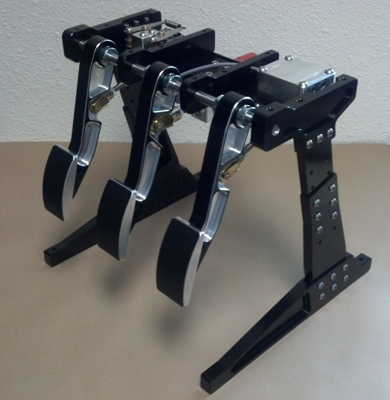 Hpp simulation gt style sim racing pedals check em out