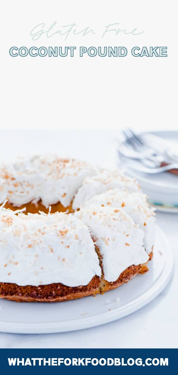 Simple Gluten Free Coconut Pound Cake Recipe What the