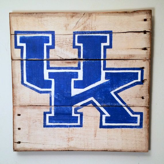 University Of Kentucky Man Cave Ideas : University of kentucky wall hanging on etsy