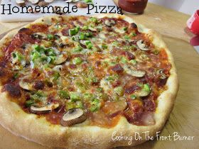 Cooking on the Front Burner: Pizza Making 101