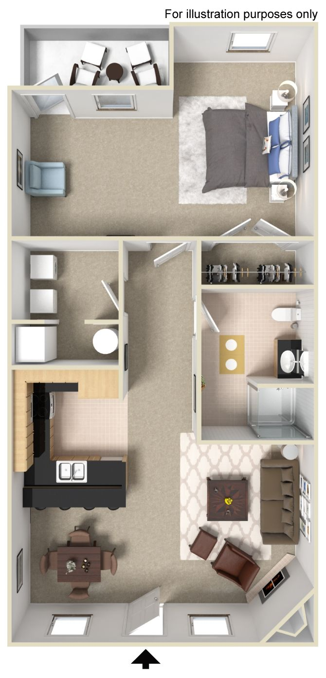 Does This Look Like Your Ideal Place To Call Home Schedule A Walk Through Today Tiny House Plans Tiny House Floor Plans