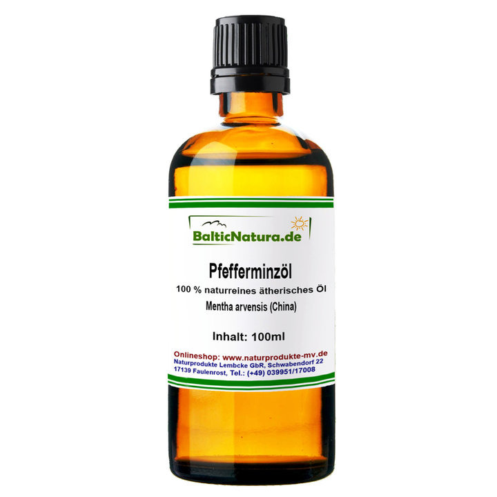 Photo of Pfefferminzöl, Mentha arvensis (100 ml) 100% naturreines ätherisches Öl – Marika Jäger´s MJH