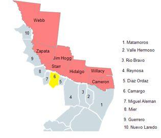 Map Of Camargo Tamaulipas Camargo Tamaulipas My Family History