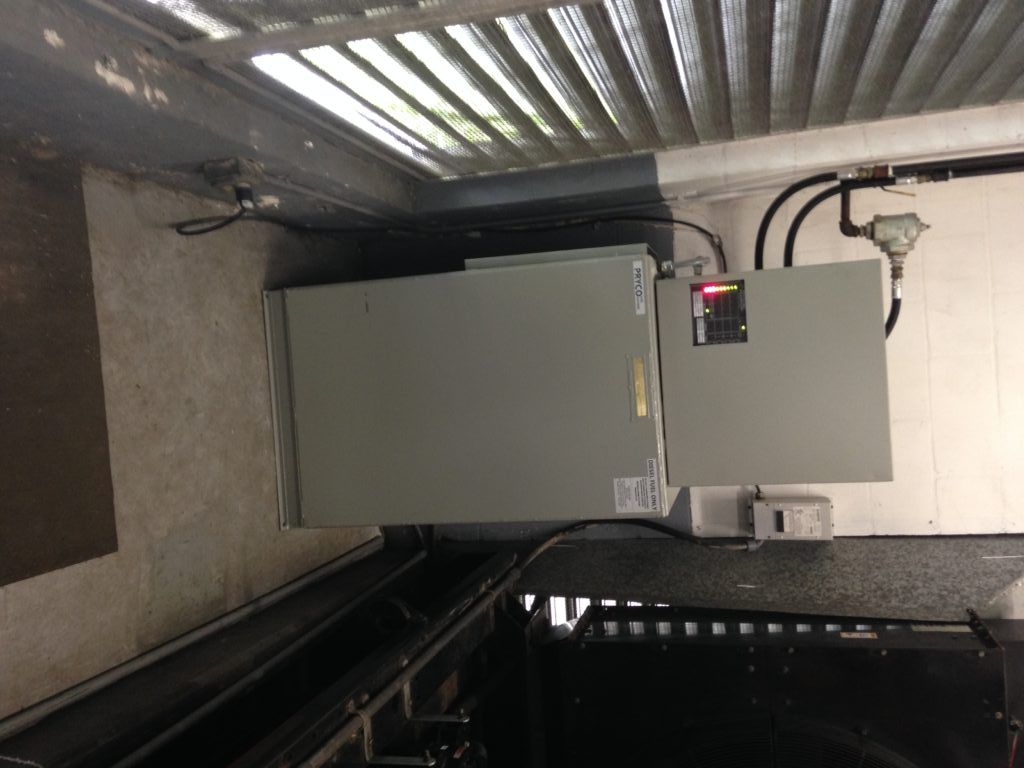 Mid Florida Diesel Installed A New 100 Gallon Pryco Double Wall Day Installation Double Walled Diesel