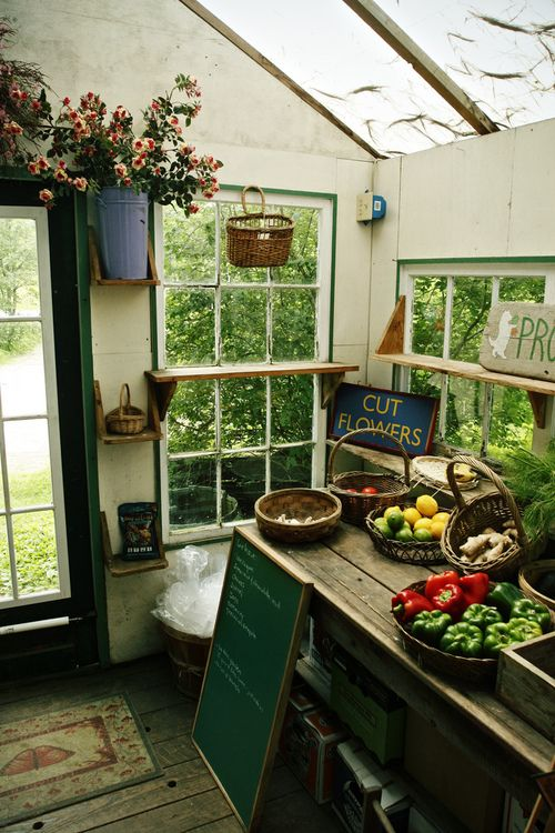 Drew gets his man cave garage, I get a garden shed! I would love ...