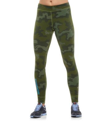 os kaki pantalon tight fitness reebok homme elite Nmnvw80