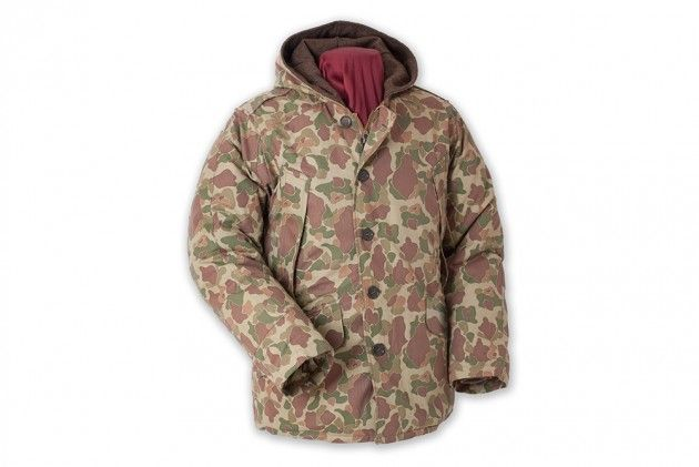 ALL-OVER CAMO DONE RIGHT WITH THIS BUZZ RICKSON B-9 PARKA