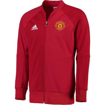 dab90c352 ... adidas 201617 Replica Home Long Sleeve Jersey - Red Clothing · Jaket Manchester  United Merah 2017 . ...