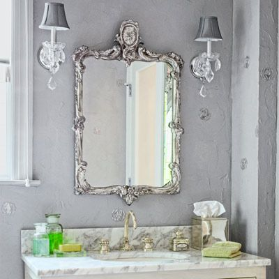 Create A Glam Hollywood Bath Bathroom Design Pinterest Bathroom Photos Hollywood Regency