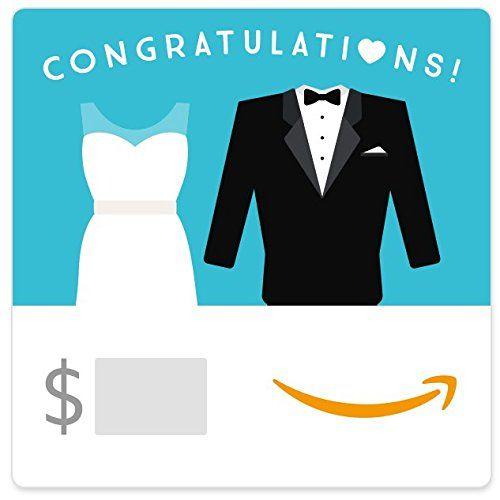 (Bridal Shower Theme) – Amazon eGift Card – Wedding Dress and Tuxedo   Outdoor Bridal Shower …