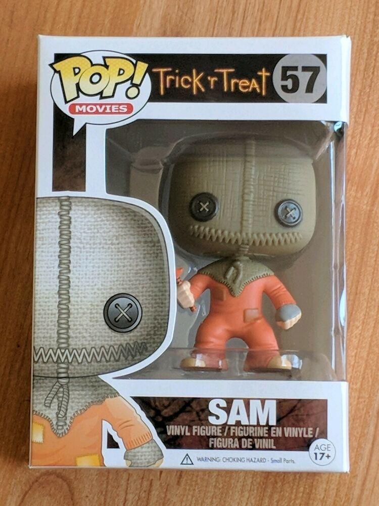 "Funko Pop Movies Trick/'r Treat Sam #57 Vinyl Action Figure Toy 4/"" New In"