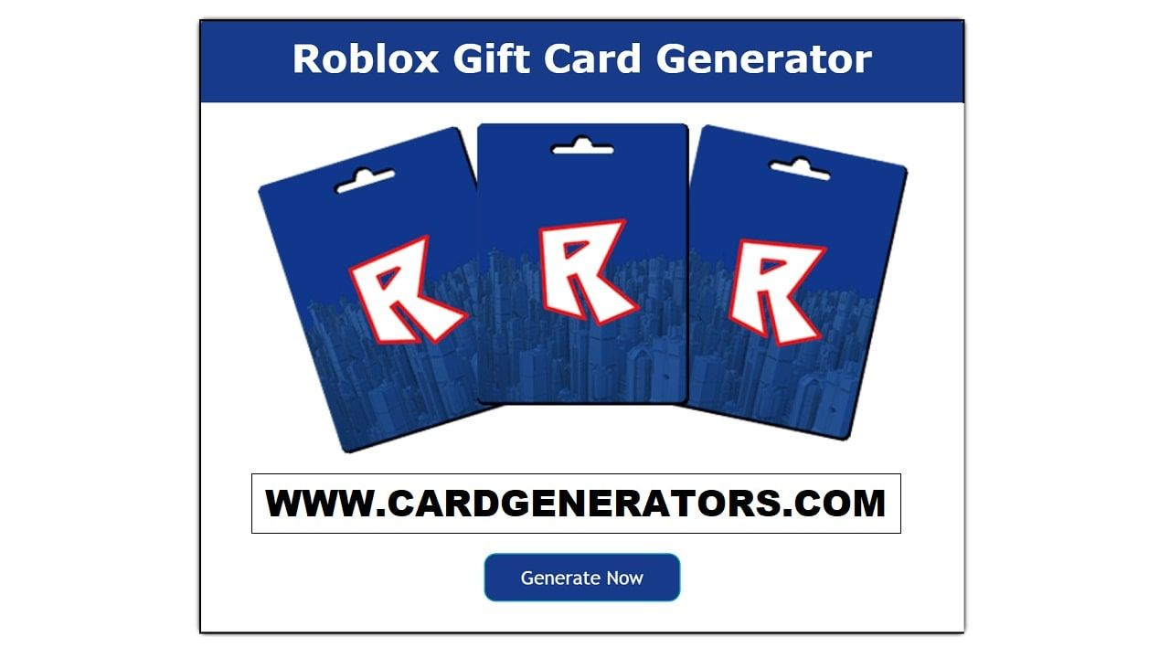 Roblox Gift Card Generator Free Roblox Gift Card Codes Roblox