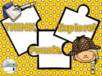 """This product is inspired by """"Making Thinking Visible"""" by Ritchart, Church, and Morris. It is a graphic organizer designed to lead students to deeper thinking. The graphic organizer is black and white and coordinates with Wild Child Design's other Making Thinking Visible products."""