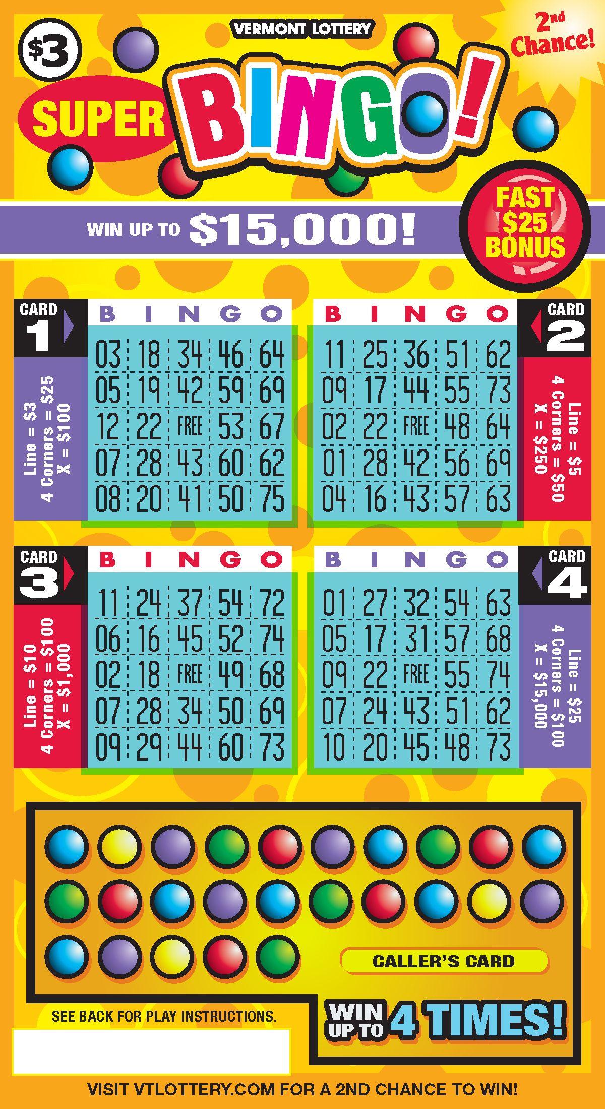 3 super bingo lottery education funding winning