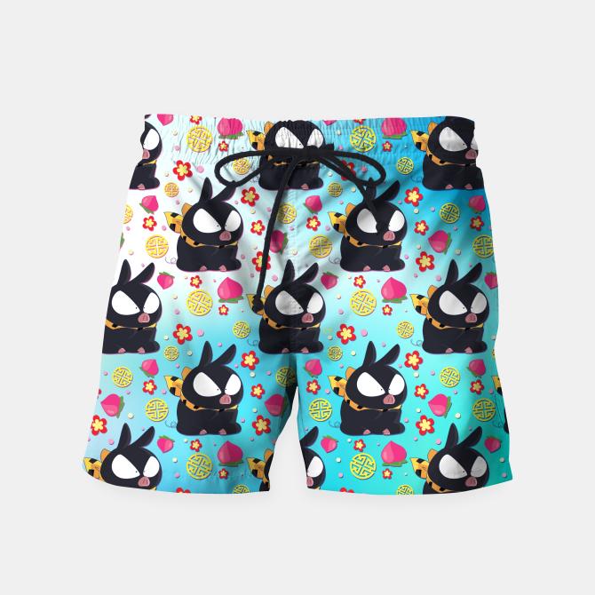Pchan Pattern Swim Shorts