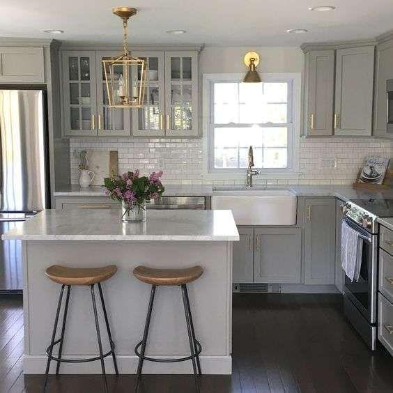 Ideas de cocina pequeñas con desayunador (Foto 6/32) | Ellahoy ...