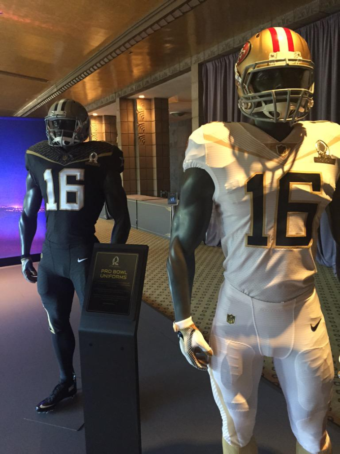quality design f05de 265d3 Actually kind of dig the 2016 Pro Bowl jerseys. | Sports ...