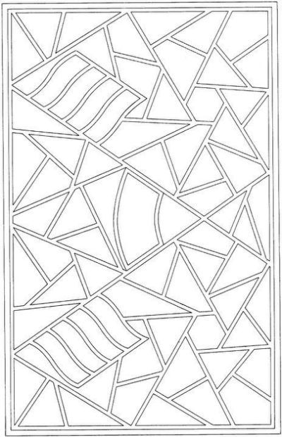 GEOMETRIC DESIGN COLORING PAGES | Art classroom | Pinterest ...