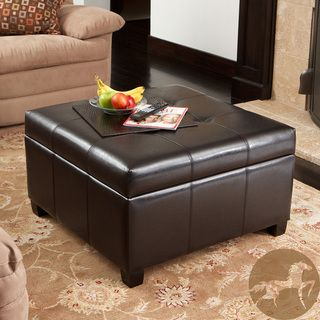 Unique Padded Coffee Table with Storage