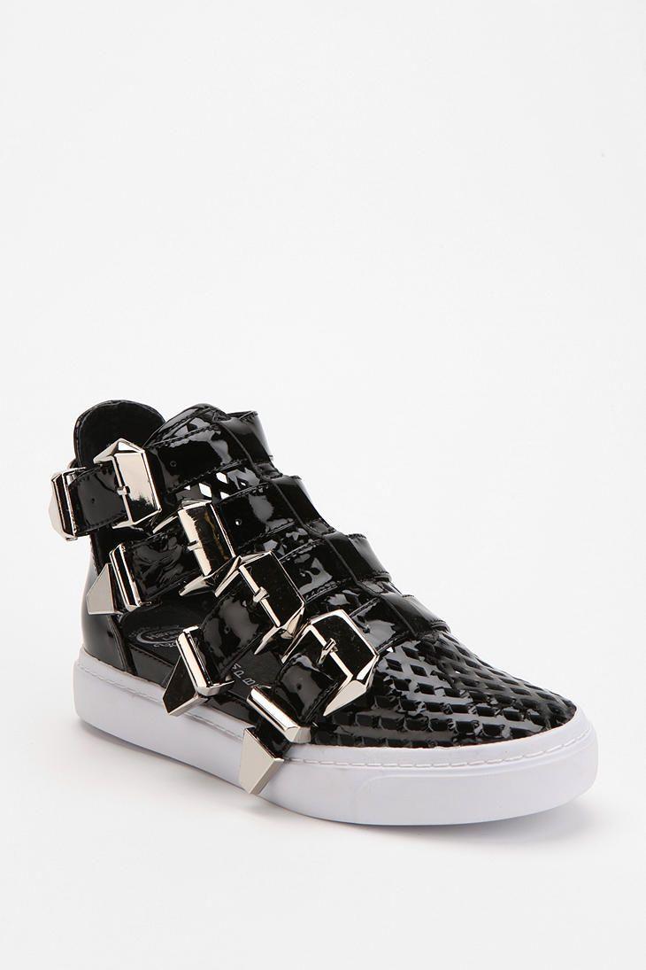 Jeffrey Campbell Indie Buckle High-Top Sneaker