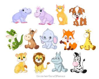 cute animals clipart etsy z is for zoo pinterest free cartoons rh pinterest com cute farm animal clipart cute animal clipart pinterest