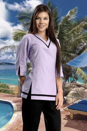 Hoteler a y restaurantes uniformes para hoteles for Spa uniform patterns