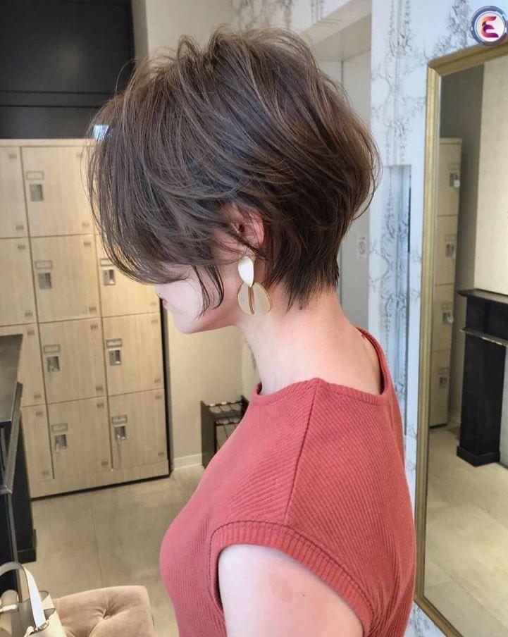 72 Stilvolle Kurzhaarfrisuren und Frisuren für Mädchen jeden Alters Dezember 2019 - Frisuren Ideen Frauen