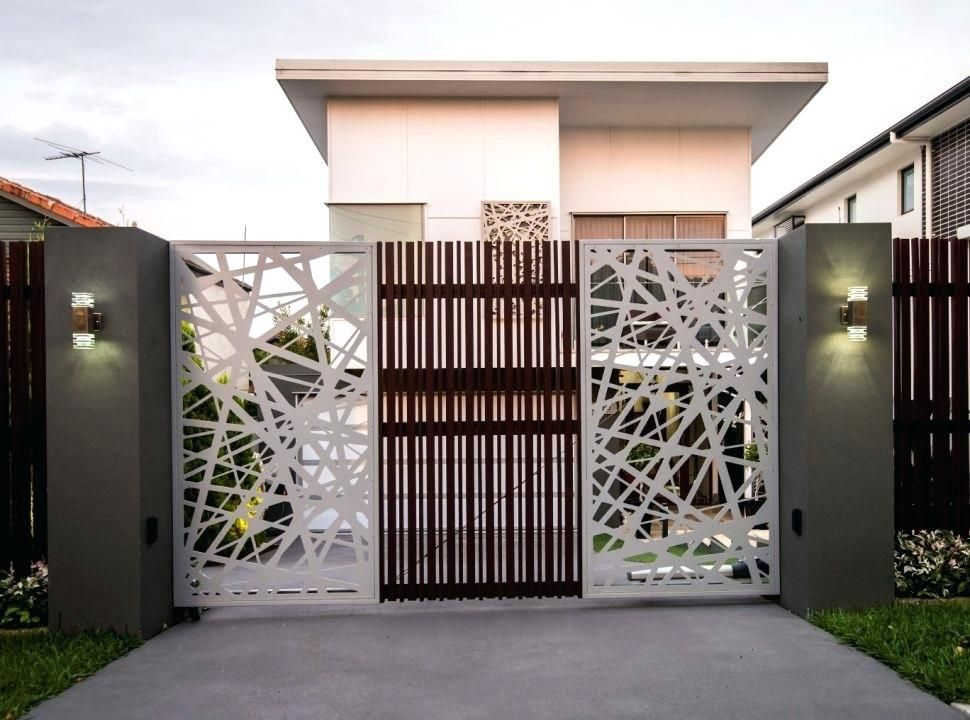 entry gate design gate and fence gates and fences gate ...