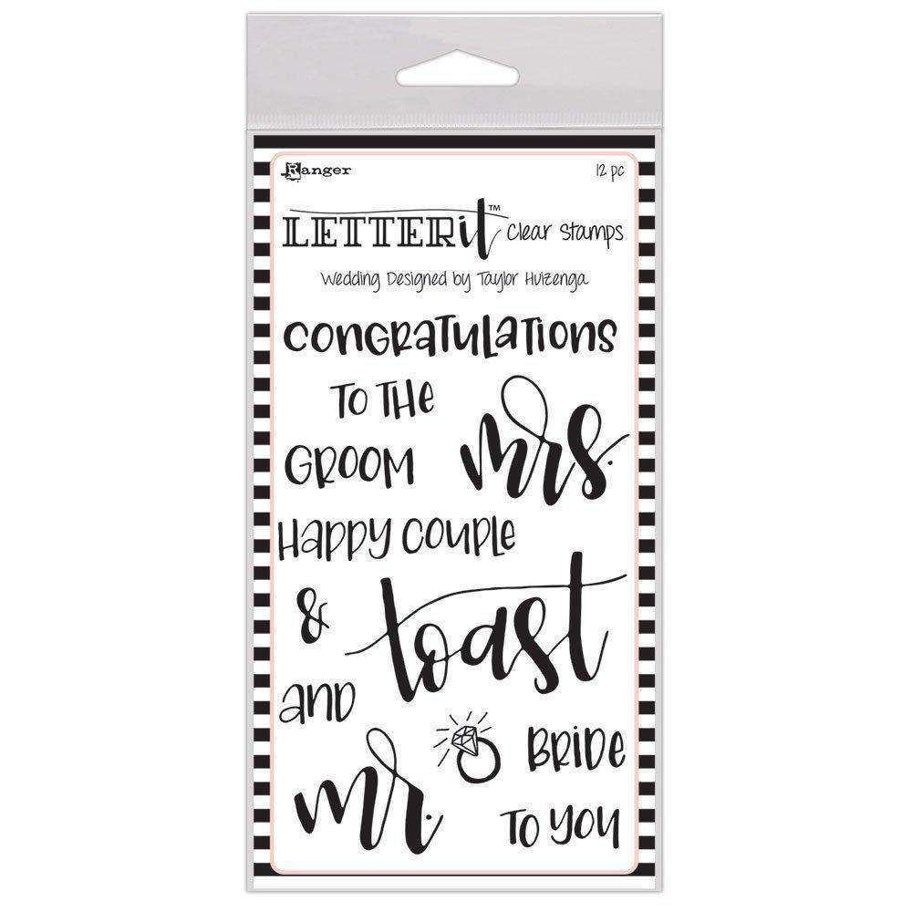 Wedding Clear Stamp Set By Letter It Lec59332 Products Stamp