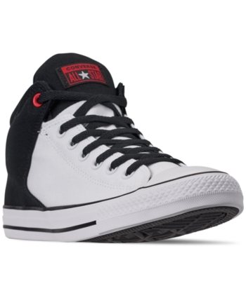 698f706a7408 Converse Men s Chuck Taylor All Star High Street Casual Sneakers from  Finish Line - White 13