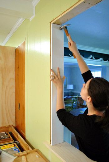 How To Trim Out A Cased Opening And A Half Wall Our Diy Projects
