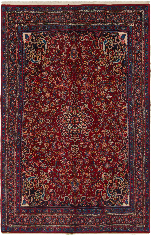 Red 7 X 11 Bidjar Persian Rug Persian Rugs