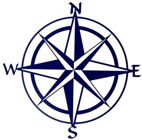 graphic about Printable Compass Rose called Pin upon Comp Rose