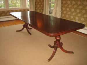 This is pretty much my dining room table.  My legs are a little different but ohhh so long.