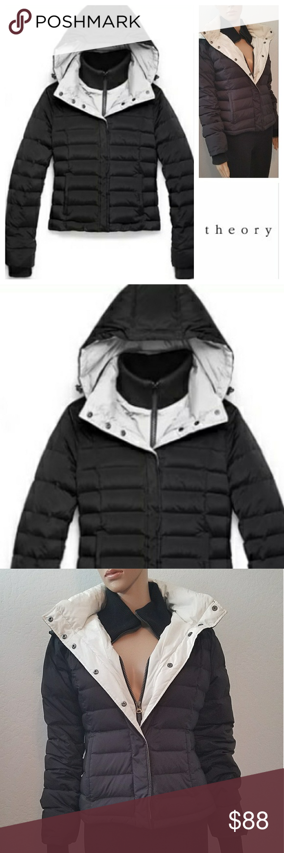 Limited Edition THEORY UNIQLO Down Puffer Jacket Fashion