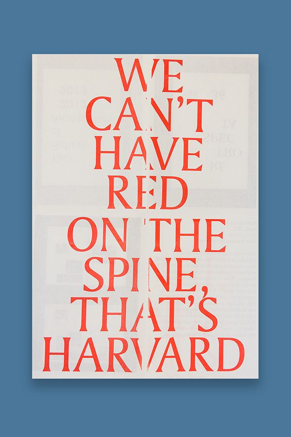Yale Thesis Book Posters