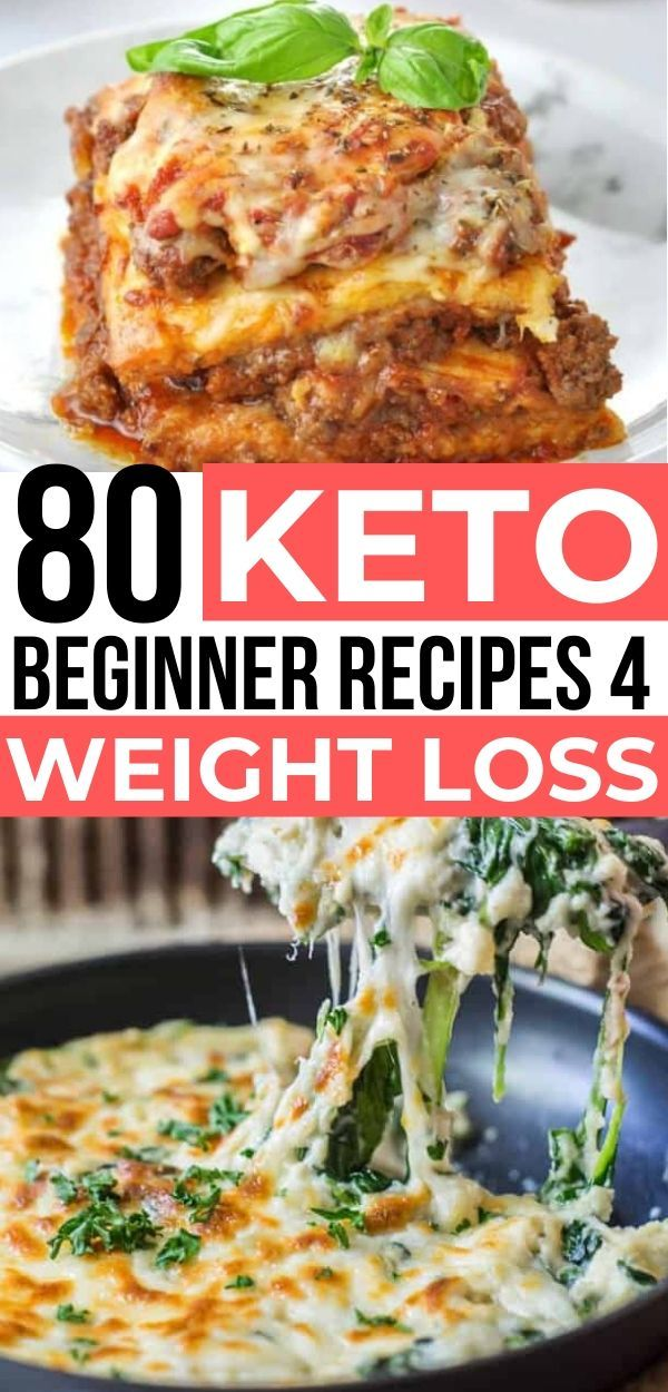 80 Easy Keto Diet Beginner Recipes For Weight Loss