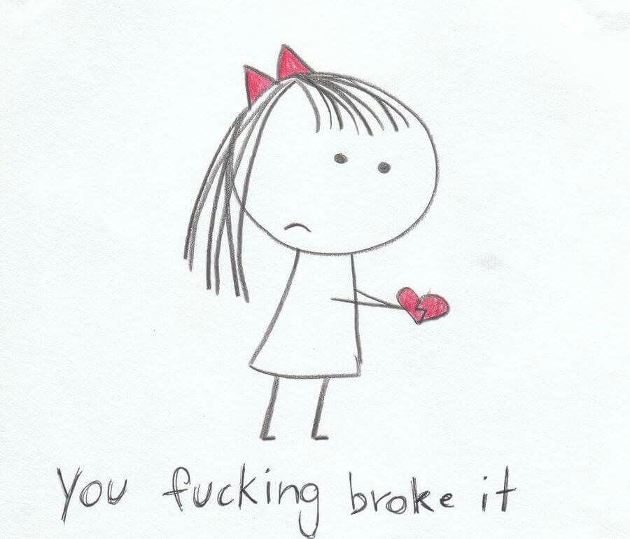 Broken heart Yeah you did ..... :(