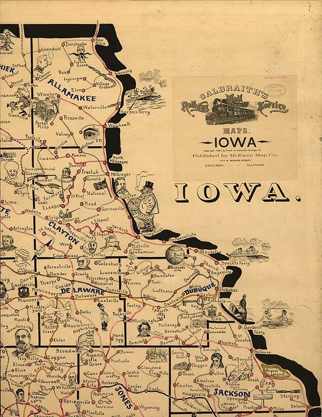 About This Collection Iowa Dubuque Des Moines Iowa