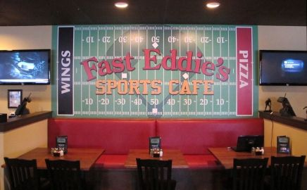 Sports Bar Wall Mural
