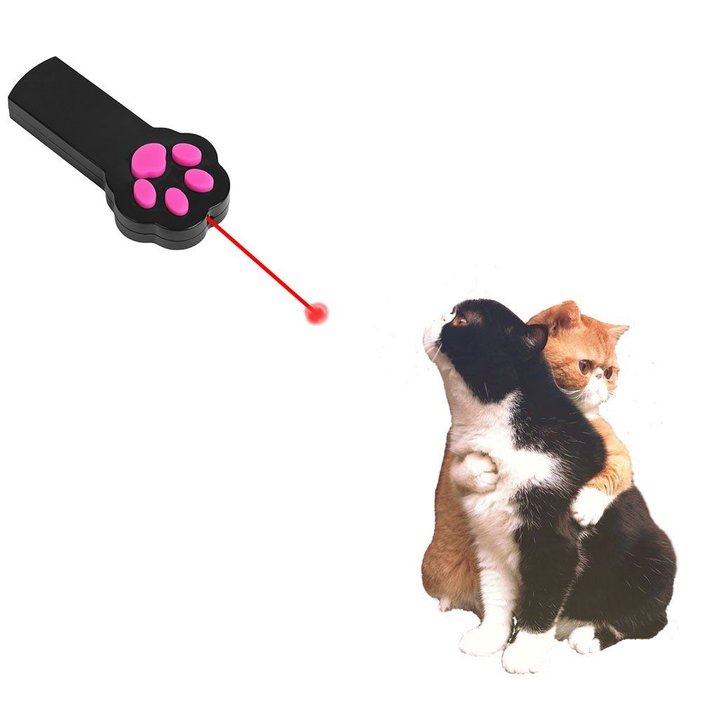 Paw Style Interactive Led Light Laser Pointer Cat Toys And The Pink Silicone Button Black By Mimibox For More Information Vi Cat Toys Pet Toys Kitten Toys