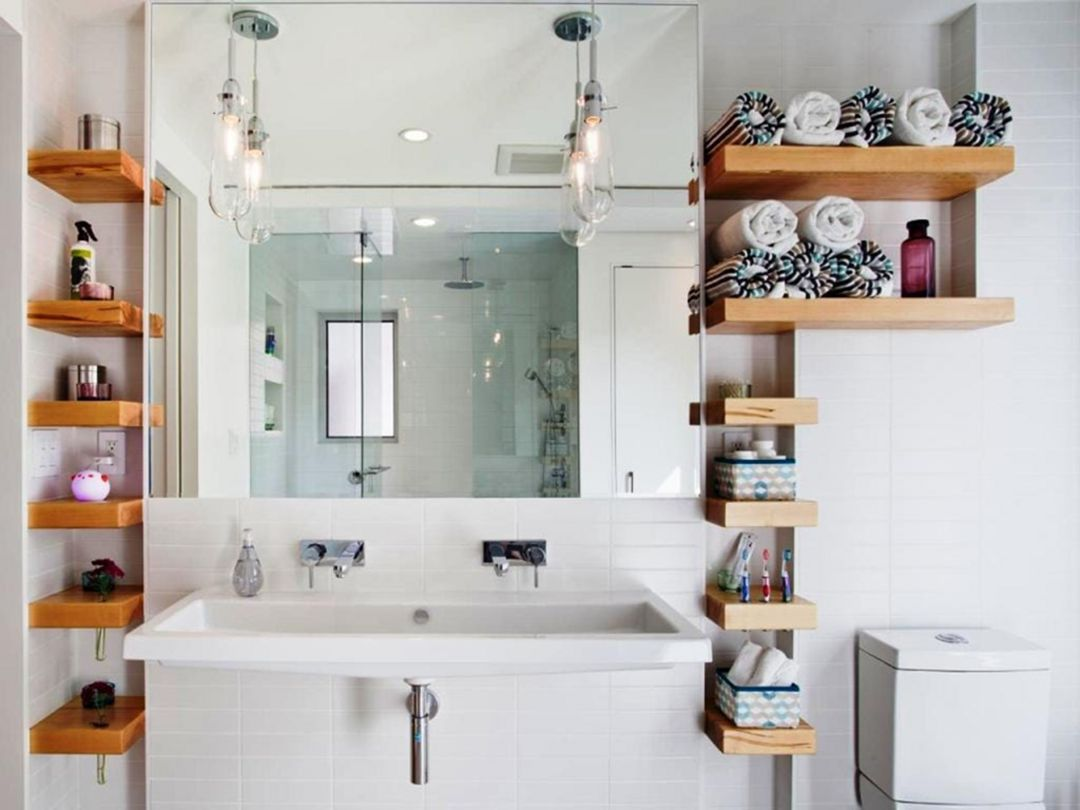 Bathroom Corner Storage Cabinet Https Pistoncars Com 15 Creative Bathroom Storage Ideas For You Bathroom Wall Shelves Clever Bathroom Storage Bathroom Design
