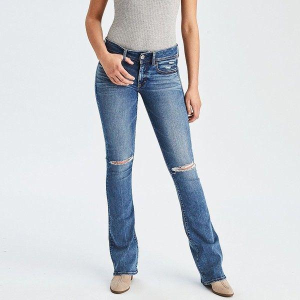 de4d2d8ecc5 AE Denim X Kick Boot Jean ( 50) ❤ liked on Polyvore featuring jeans ...