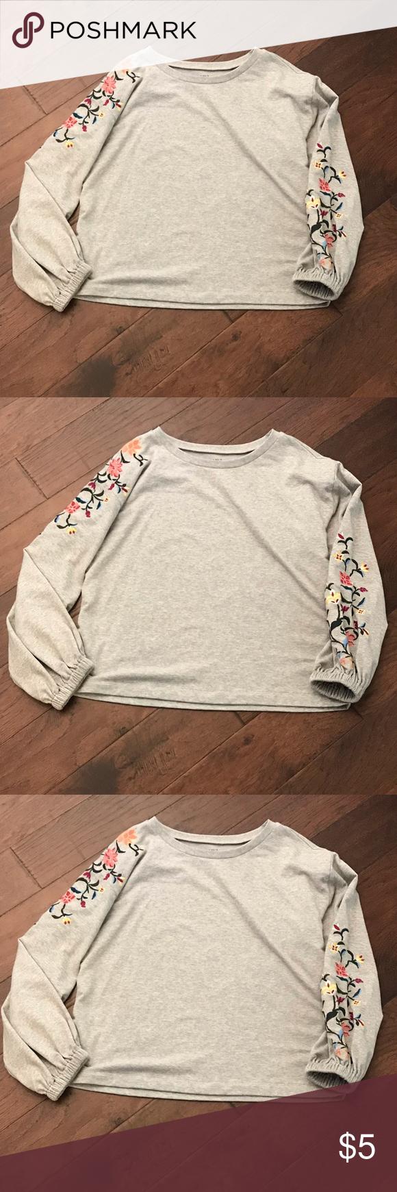 199539394cea8 A.N.A SzL Appliqué Shirt Fun