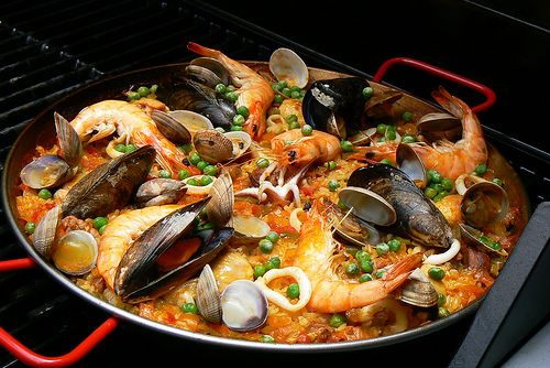 Spain is amazing. Spanish food is amazing. Paella is amazing.