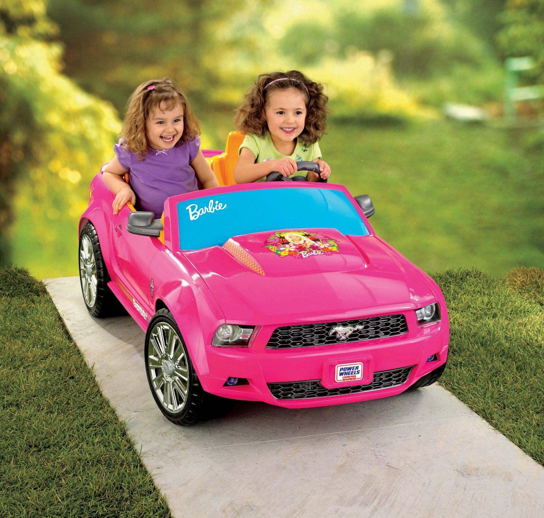 Barbie Mustang Power Wheels Car